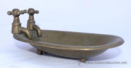 Antigua jabonera forma de ba era antigua con p comprar for Baneras antiguas con patas baratas