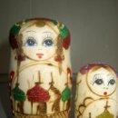 Vintage: MATRIUSCA RUSA EN MADERA. Lote 36846243