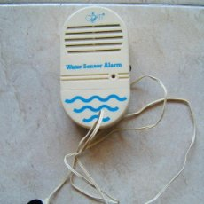 Vintage: WATER SENSOR ALARM - MARCA COATI -DETECTOR DE AGUA - COMPLETO - NUEVO - A PILA -11X6X3 CM -AÑOS 1980. Lote 36987085