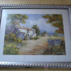Vintage: LAMINA PERFECTAMENTE ENMARCADA - 33,5 X 27,5 CM.. Lote 37067276
