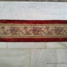 Vintage: TAPETE O CAMINO DE MESA BORDADO A MAQUINA. Lote 37508045