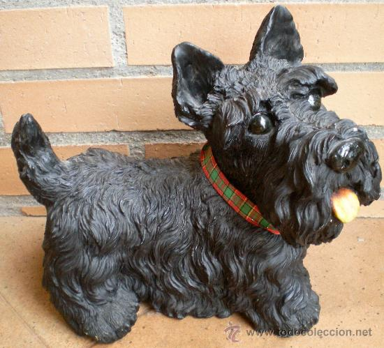 Perro Terrier Publicidad Scotch Whisky Black Sold Through Direct Sale 38397931