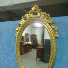 Vintage: ESPEJO DORADO CLASICO VINTAGE. Lote 38455654