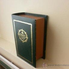 Vintage: CAJA CON FORMA DE LIBRO DE XEREZ LEPANTO DE GONZALEZ BYASS. Lote 38655418