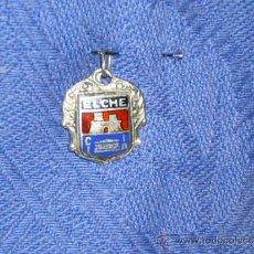 Vintage: ANTIGUO COLGANTE DE ELCHE ALICANTE, EN PLATA DE LEY. Lote 38878175