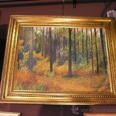 Vintage: CUADRO ARTISTA PRIVADO MARCO DECORADO. Lote 38906297