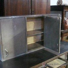 Vintage: MUEBLE METÁLICO DE COLGAR - MIDE ALTO 60 X ANCHO 125 X FONDO 30 CM. Lote 38931395