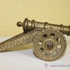 Vintage: CAÑON EN HIERRO FUNDIDO. Lote 39285449