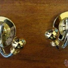 Vintage: PAREJA DE PERCHAS DOBLES(SIN USAR). Lote 39314004