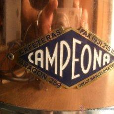 Vintage: CHOCOLATERA CAMPEONA CASI NUEVA.. Lote 39471355