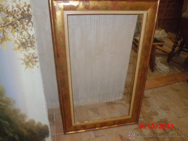 Marco de madera para colocar un espejo lamina comprar - Marcos rusticos para espejos ...