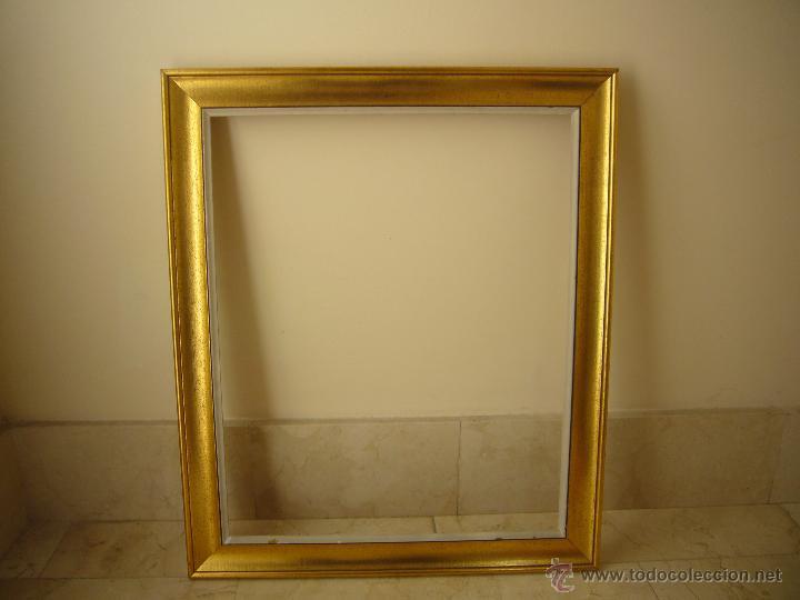 bonito marco madera para cuadro. años 60. color - Comprar en ...