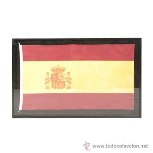 Cuadro grande bandera de espa a comprar en todocoleccion - Cuadros online espana ...