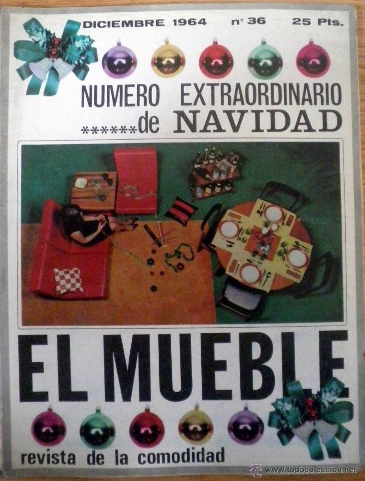 revista decoracion el mueble n diciembre navidad vintage vintage varios