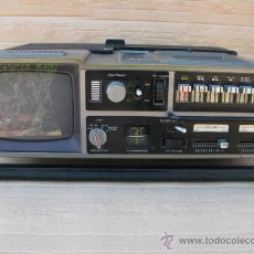 Vintage: RADIO CASETE Y TV PORTATIL MARCA TELERASSE.. Lote 39930843