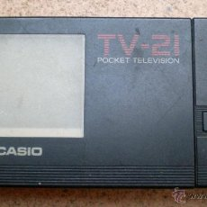 Vintage: TELEVISOR PORTÁTIL CASIO TV-21, MADE IN JAPAN. Lote 39940754