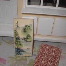 Vintage: ANTIGUO PISAPAPELES JAPONÉS. Lote 40035586