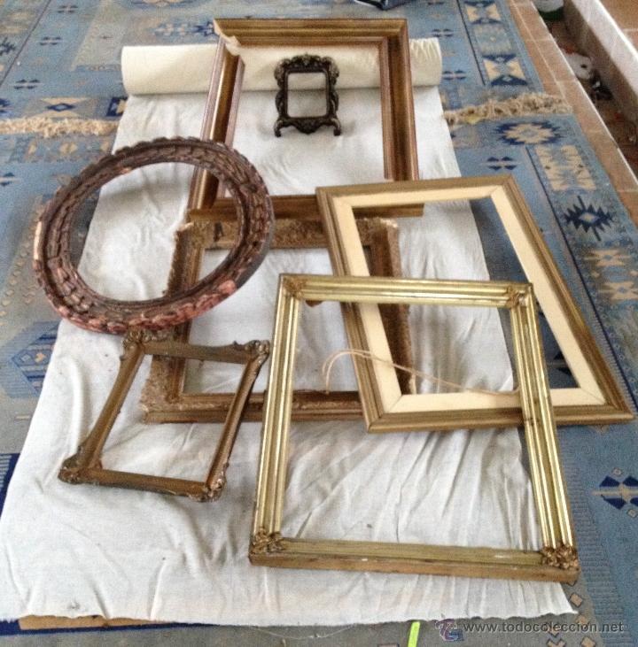 lote marcos o molduras para tus cuadros - Comprar en todocoleccion ...