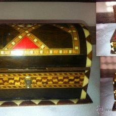 Vintage: CAJA JOYERO DE TARACEA GRANADINA. Lote 40078841