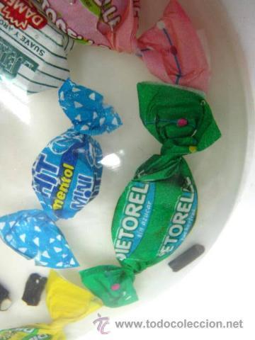 Vintage: Raro cenicero centro corazon - con caramelos en metacrilato - Foto 3 - 40360528