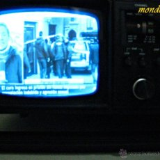 Vintage: TV RADIO CASSETTE TAPE RECORDER M80. Lote 40369186