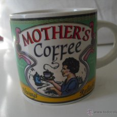 Vintage: PRECIOSA TAZA VINTAGE MOTHER'S COFFEE ALWAYS RELIABLE . Lote 159404784