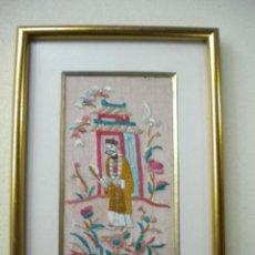 Vintage: BORDADO CHINO. Lote 40576506