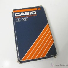 Vintage: CAJA VACIA DE LA CALCULADORA CASIO LC-310 - ELECTRONIC CALCULATOR. Lote 40668759