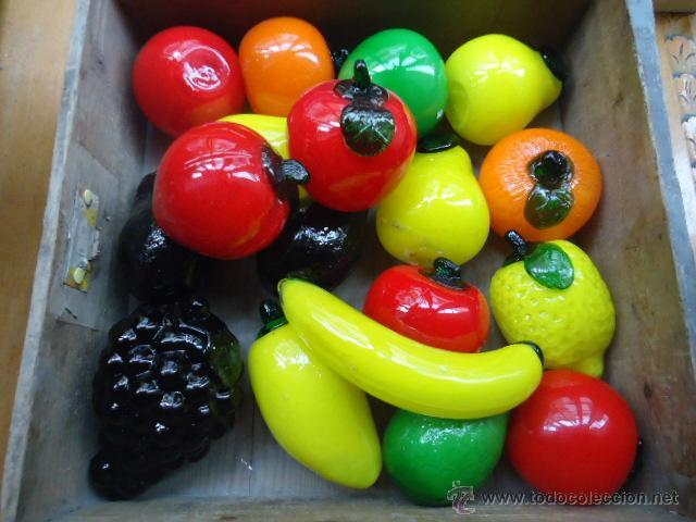fruta tamao natural en cristal mas modelos Comprar en