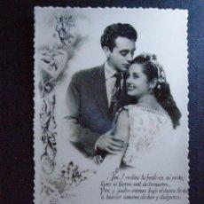 Vintage: BONITA Y ROMÁNTICA POSTAL - VINTAGE - ORIGINAL - NUEVA A ESTRENAR -. Lote 41088575