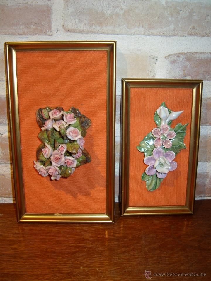 Cuadro Lote De 2 Cuadros Bouquet Floral En Po Comprar En - Cuadros-diferentes