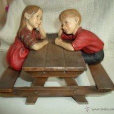 Vintage: FIGURA NIÑOS. Lote 41117543