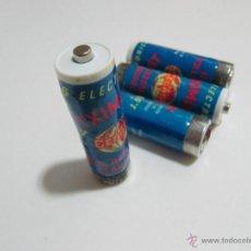 Vintage: LOTE 4 PILAS CEGASA TXIMIST DE 1.5V R6 100% HERMÉTICA 6 PTS.. Lote 41293062