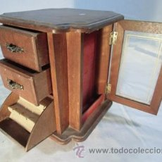 Vintage: BONITO JOYERO DE MADERA. Lote 41371211