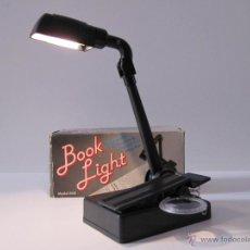 Vintage: LUZ DE LECTURA. BOOK LIGHT EN CAJA ORIGINAL. AÑOS 90 RETRO. Lote 41396216