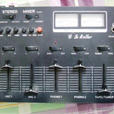 Vintage: STEREO MIXER MX-840 YU BROTHER (VINTAGE - AÑOS 70). Lote 41397137