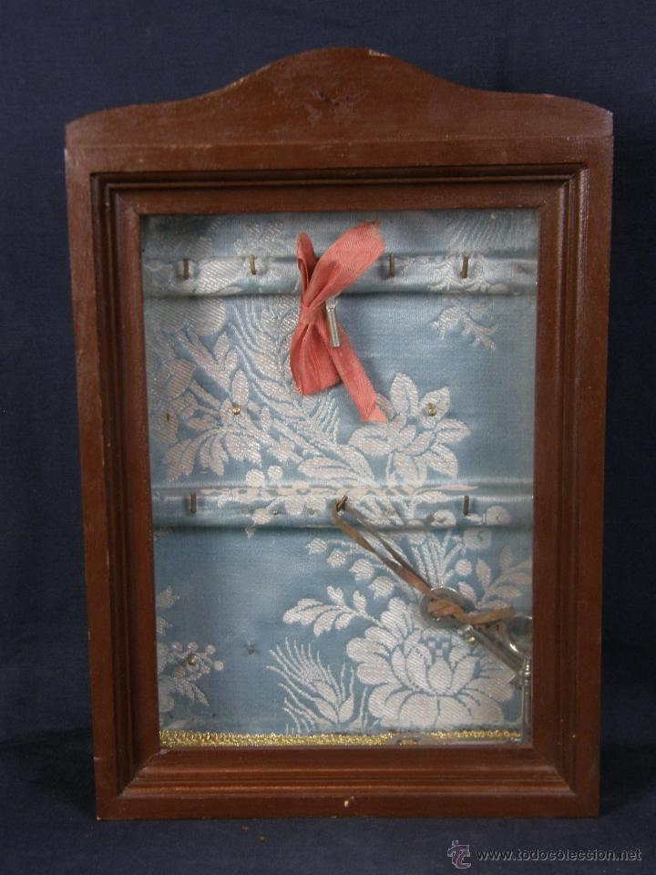 Armario para llaves caja pared madera cristal e comprar - Armarios para llaves ...