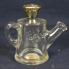 Vintage: FRASCO BOTE COLONIA PERFUME TOPAZE FORMA REGADERA CON CIERRE DE ROSA AVON 37 ML. Lote 41587626