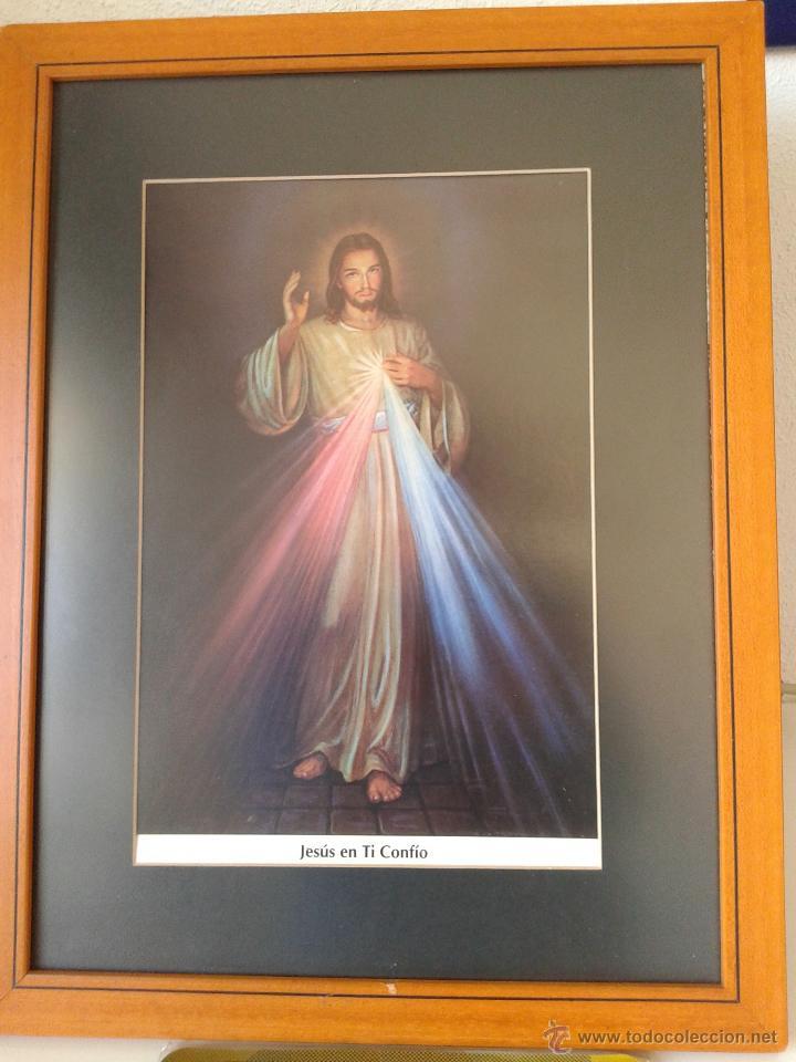 cuadro de madera de jesús de la divina miserico - Comprar en ...