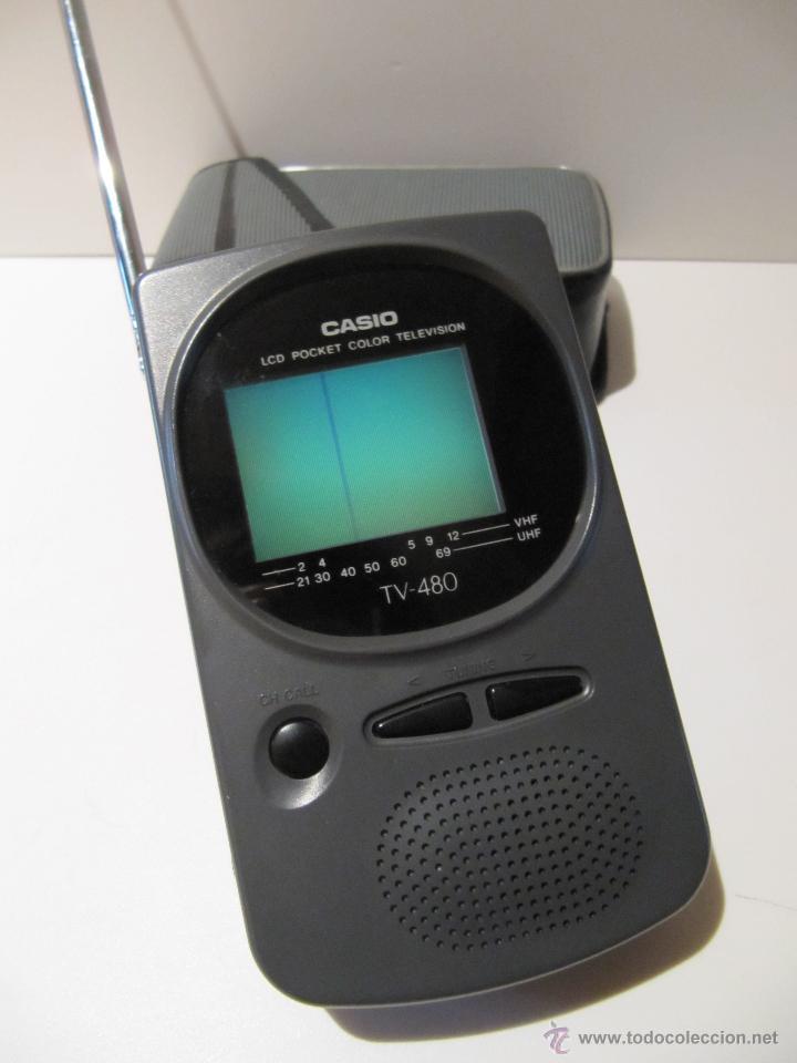 TELEVISOR CASIO LCD POCKET COLOR TELEVISION MOD. TV-480C (Vintage - Varios)