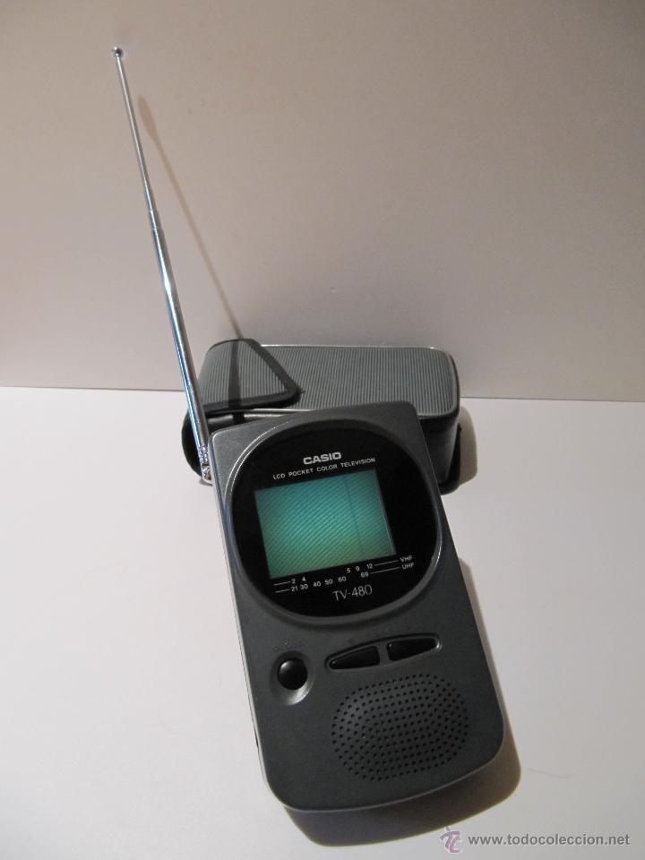 Vintage: TELEVISOR CASIO LCD POCKET COLOR TELEVISION MOD. TV-480C - Foto 2 - 42216137