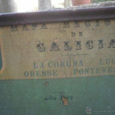 Vintage: MAPA DE ESCUELA. Lote 42256759