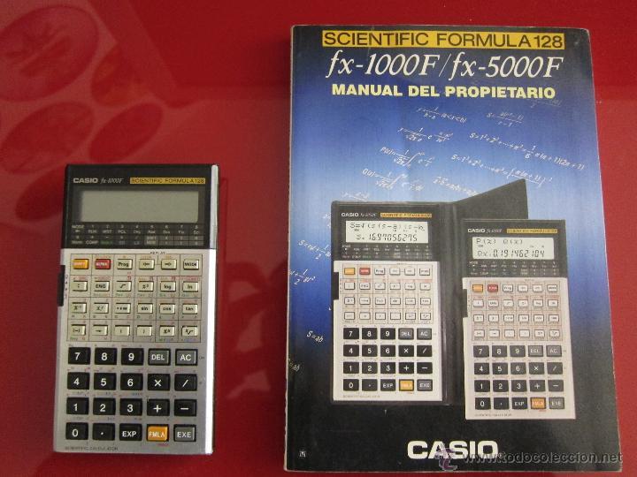 Vintage: Calculadora Casio FX-1000F - Foto 2 - 42296445