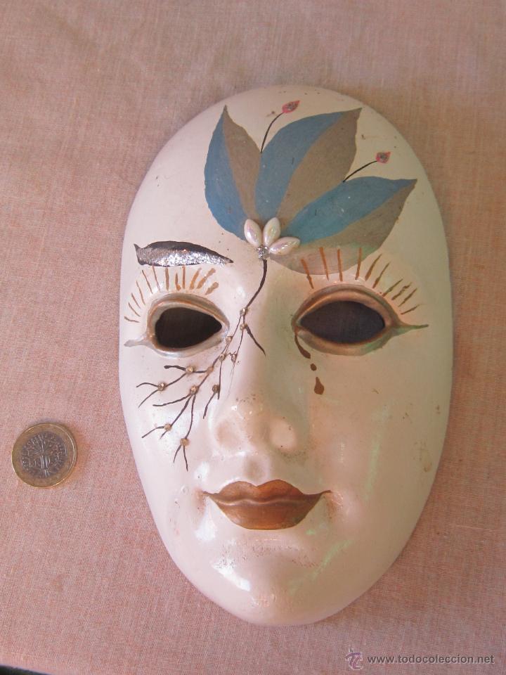 Mascara En Escayola Para Colgar En La Pared Comprar En