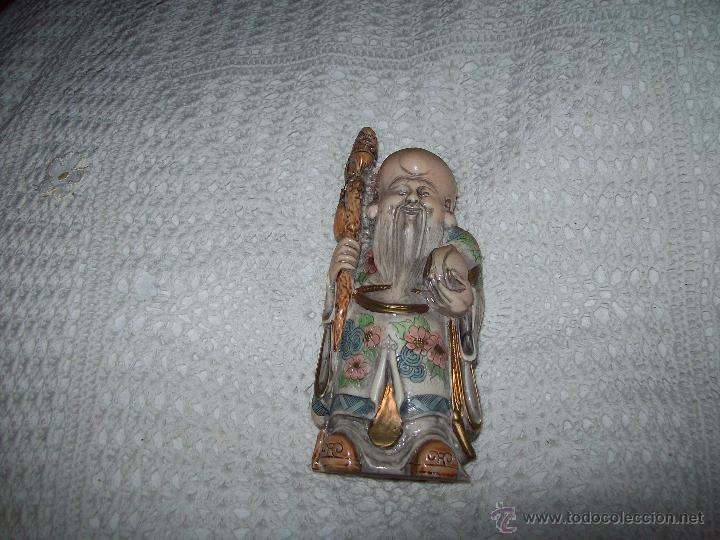 Vintage: 3 Netsukes sobre peana - Foto 7 - 42567897