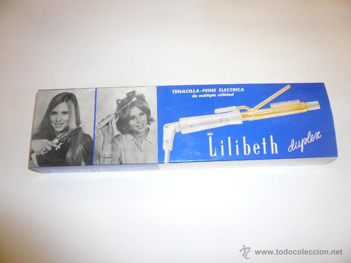 TENACILLA ELÉCTRICA LILIBETH (Vintage - Varios)
