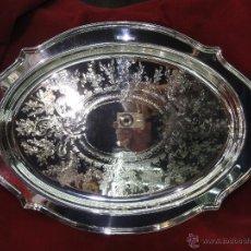 Vintage: BANDEJA DE METAL PLATEADO. Lote 42613247