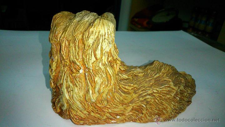 Vintage: Figura de perro de cerámica. Muy real - Foto 2 - 42820886