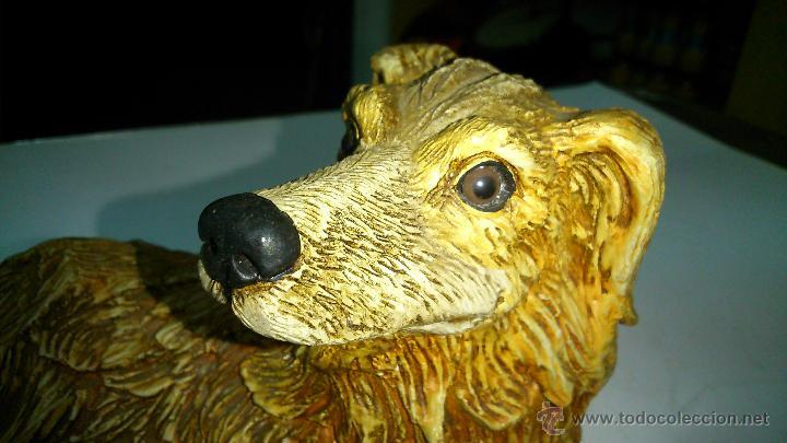 Vintage: Figura de perro de cerámica. Muy real - Foto 3 - 42820886