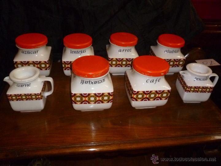 Tarros de cocina y aceiteras vintage comprar en for Tarros de cocina baratos